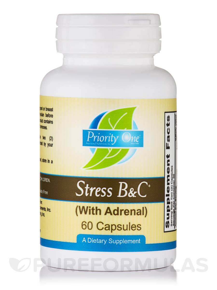 Stress B&C (with Adrenal) - 60 Capsules