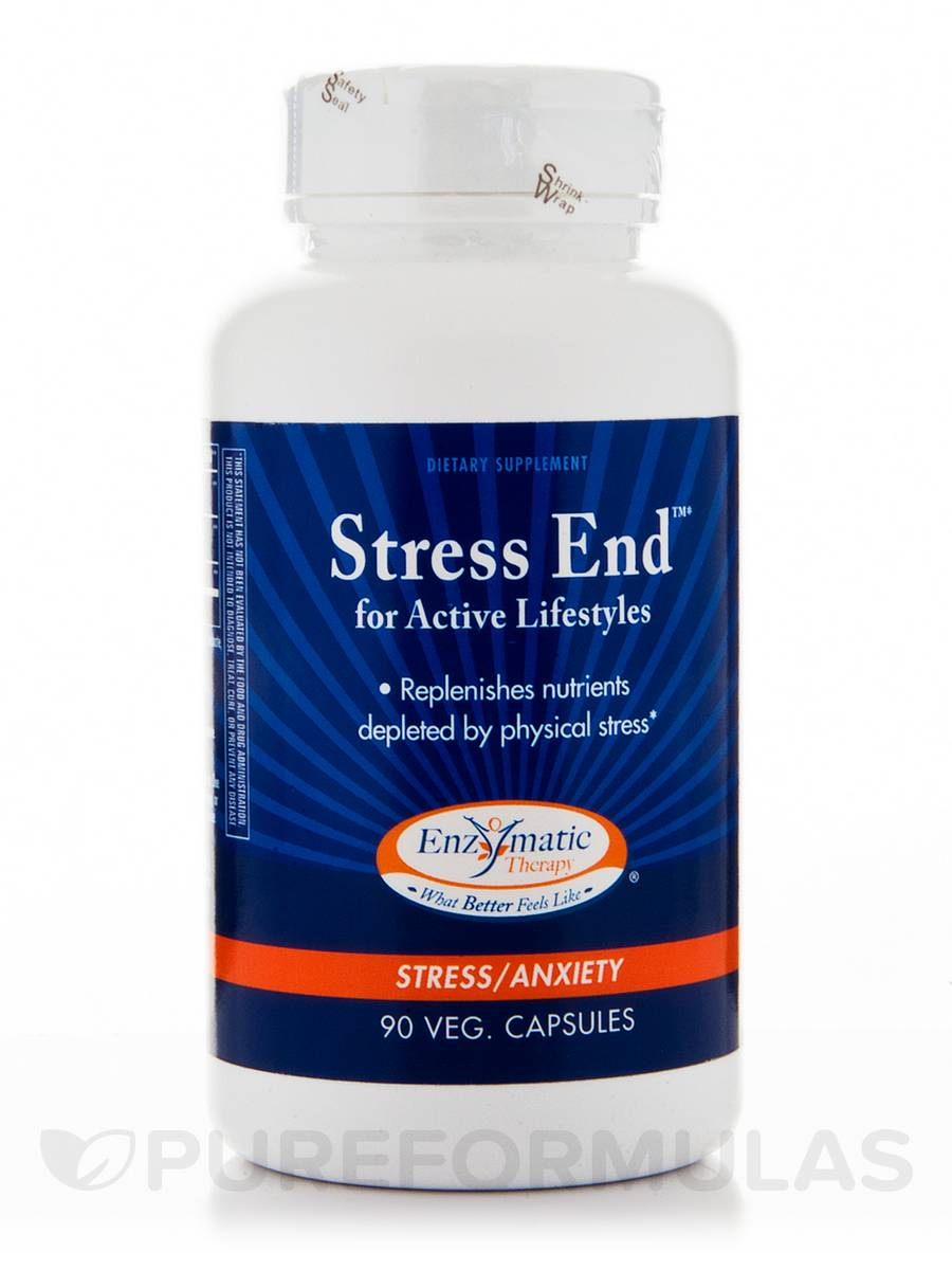 Stress End - 90 Vegetarian Capsules