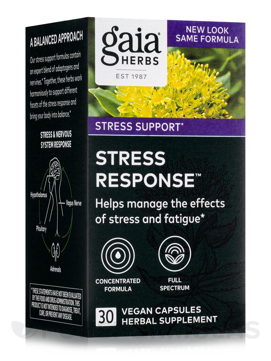 Stress Response - 30 Vegetarian Liquid Phyto-Caps