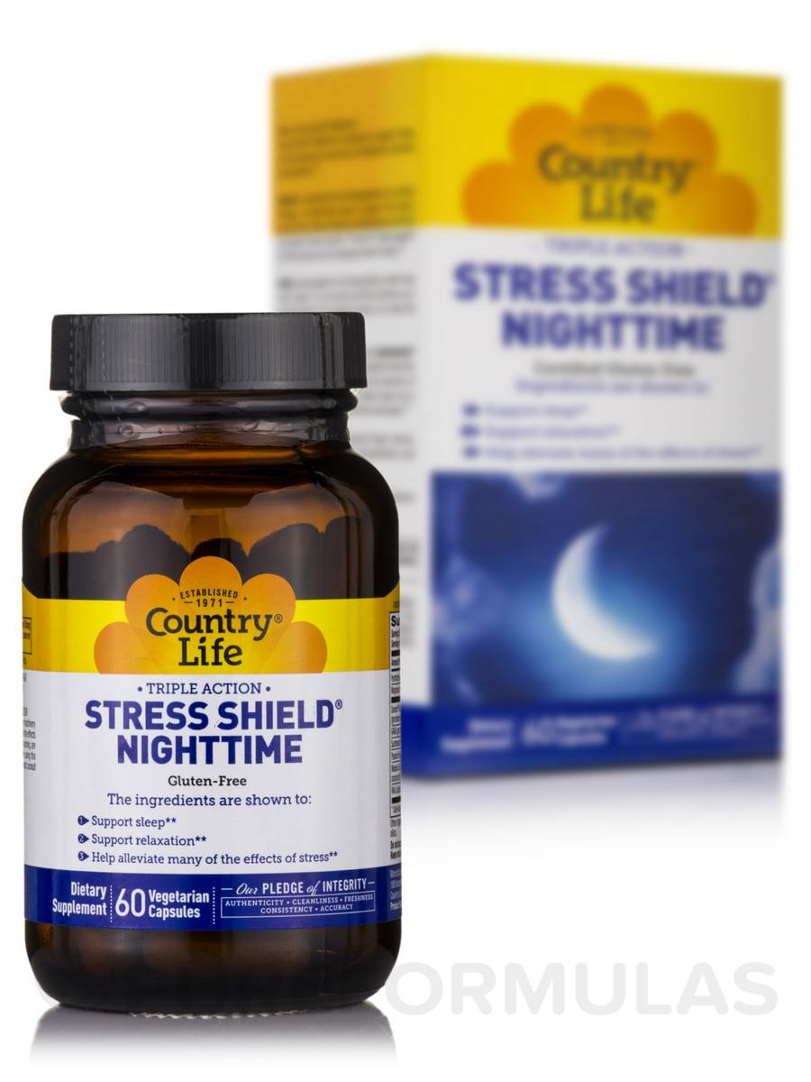 Stress Shield Nighttime - 60 Vegetarian Capsules