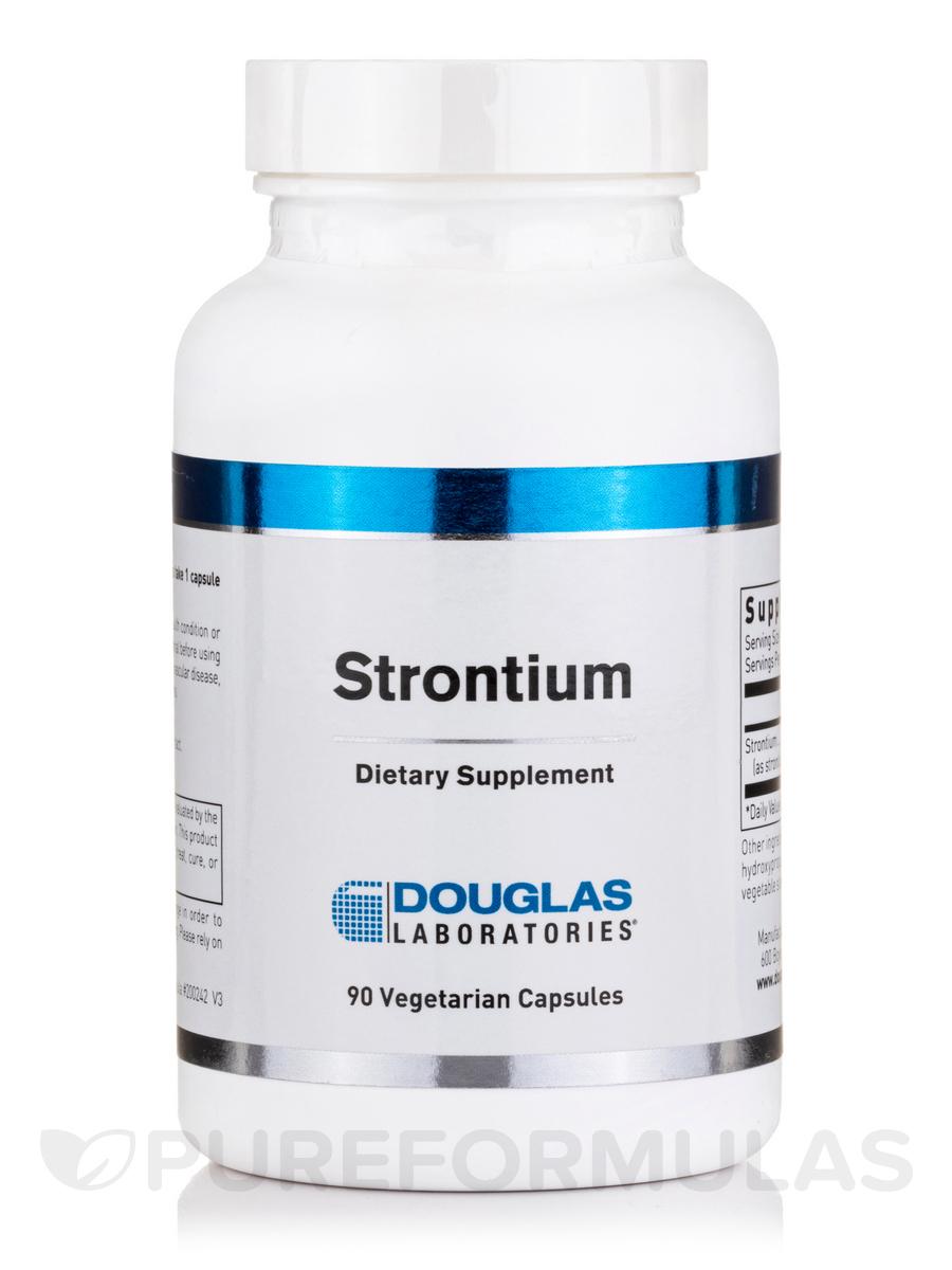 Strontium - 90 Vegetarian Capsules