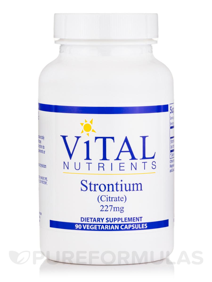 Strontium (Citrate) 227 mg - 90 Vegetarian Capsules