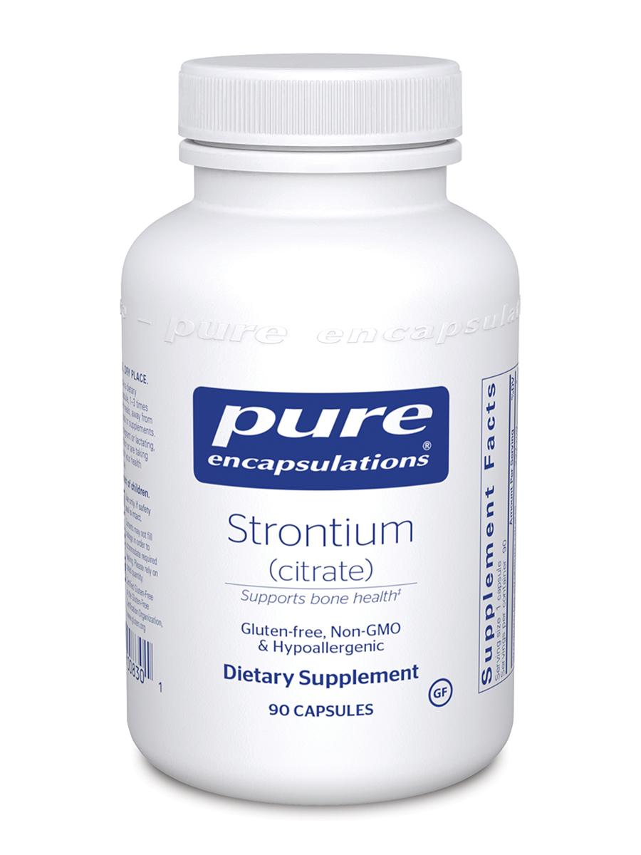 Strontium (citrate) - 90 Capsules