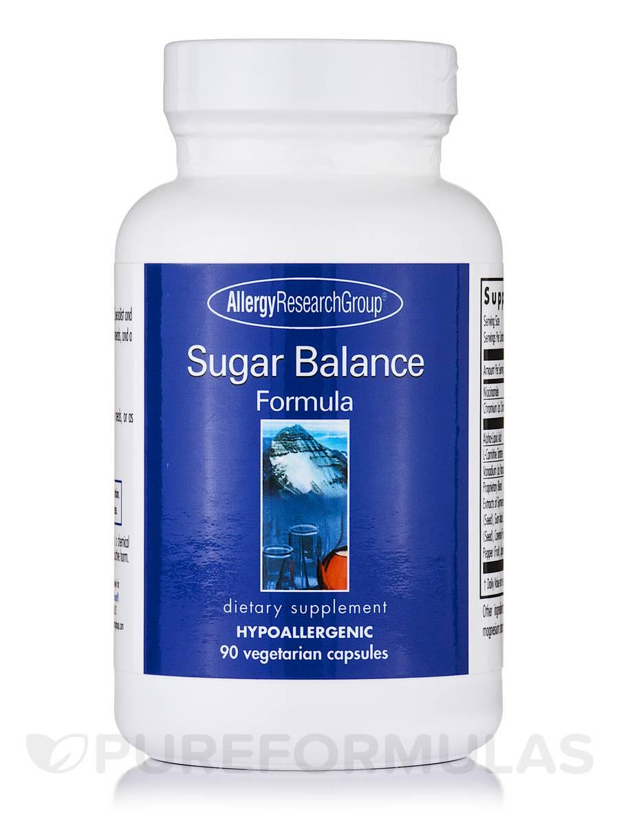 Sugar Balance Formula - 90 Vegetarian Capsules