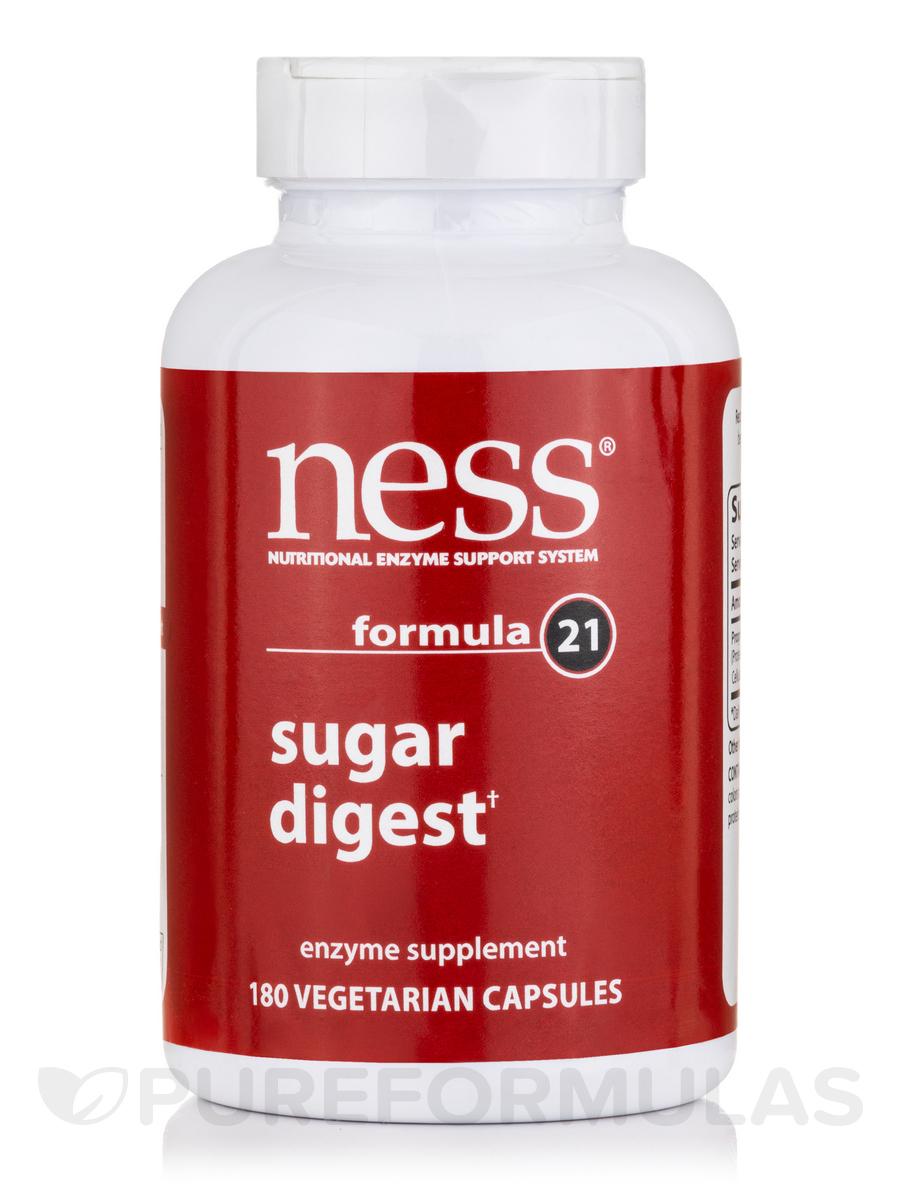 Sugar Digest (Formula 21) - 180 Vegetarian Capsules