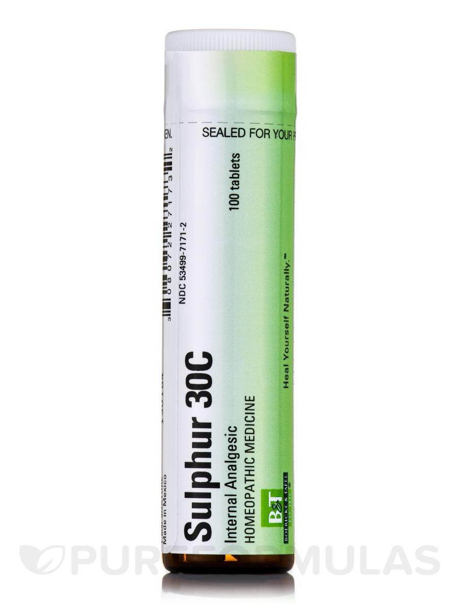 Sulphur 30C - 100 Tablets
