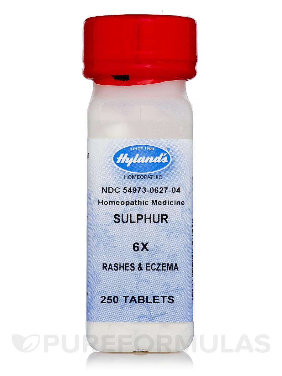 Sulphur 6X - 250 Tablets