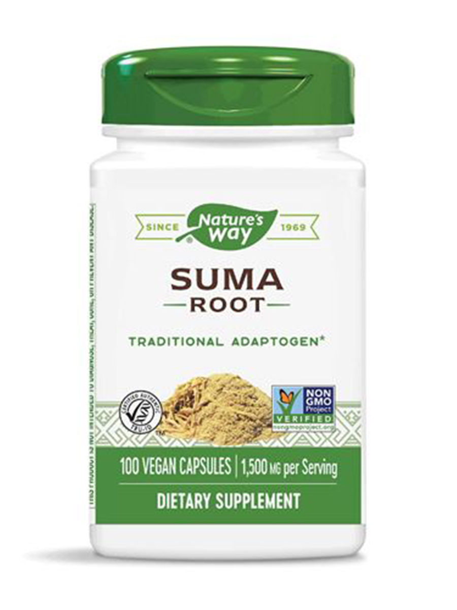 Suma Root 500 mg - 100 Capsules