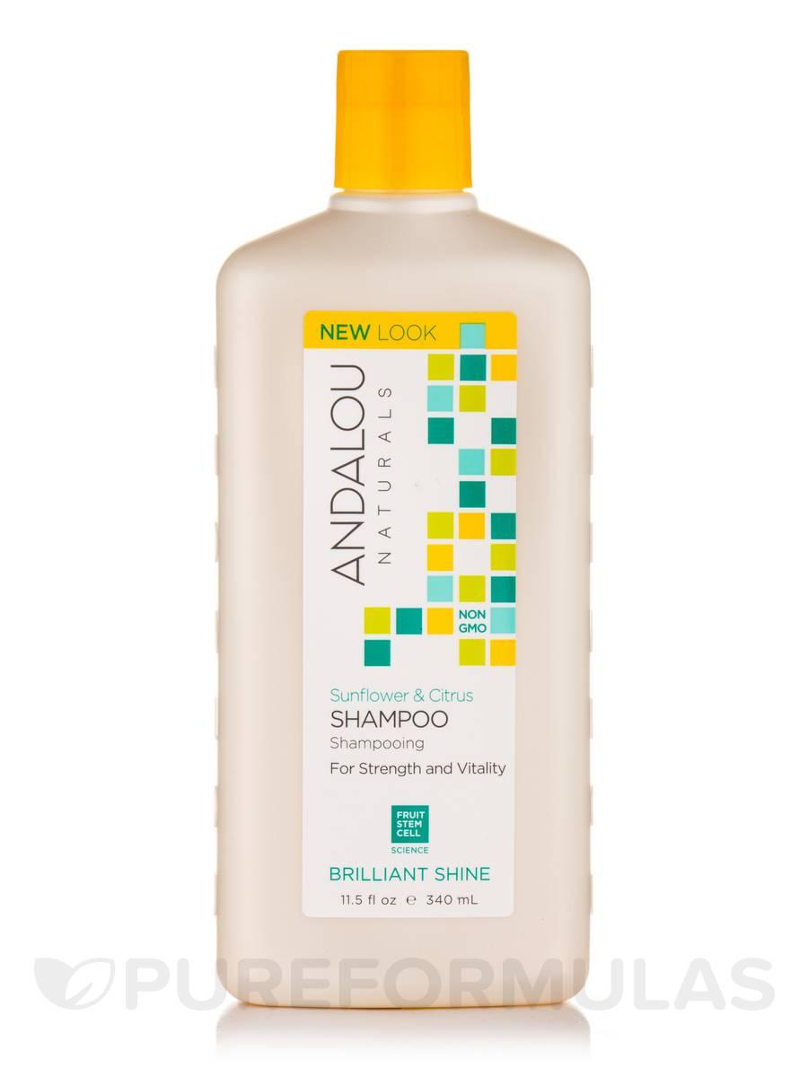 Sunflower and Citrus Brilliant Shine Shampoo - 11.5 fl. oz (340 ml)