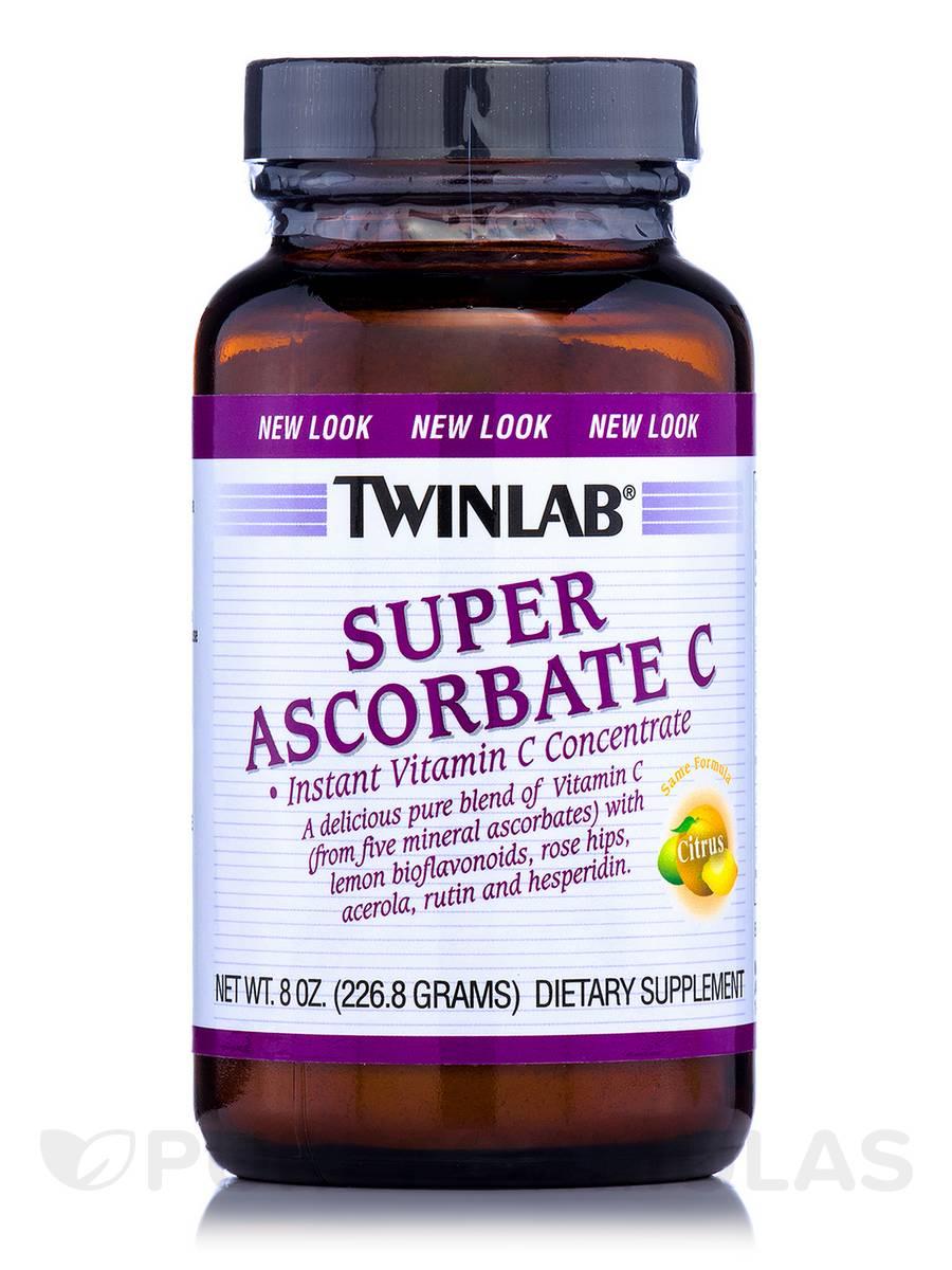 Super Ascorbate C Powder - 8 oz (226.8 Grams)