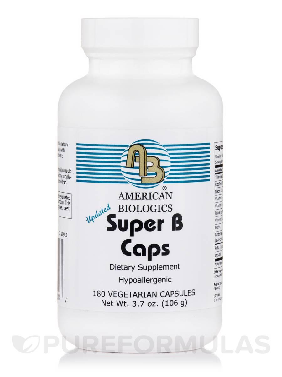 Super B Caps - 180 capsules