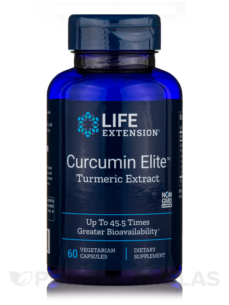 Super Bio-Curcumin 400 mg - 60 Vegetarian Capsules