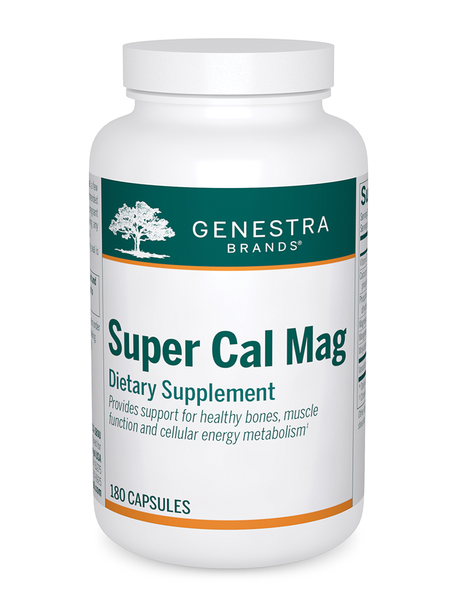 Super Cal Mag - 180 Vegetable Capsules