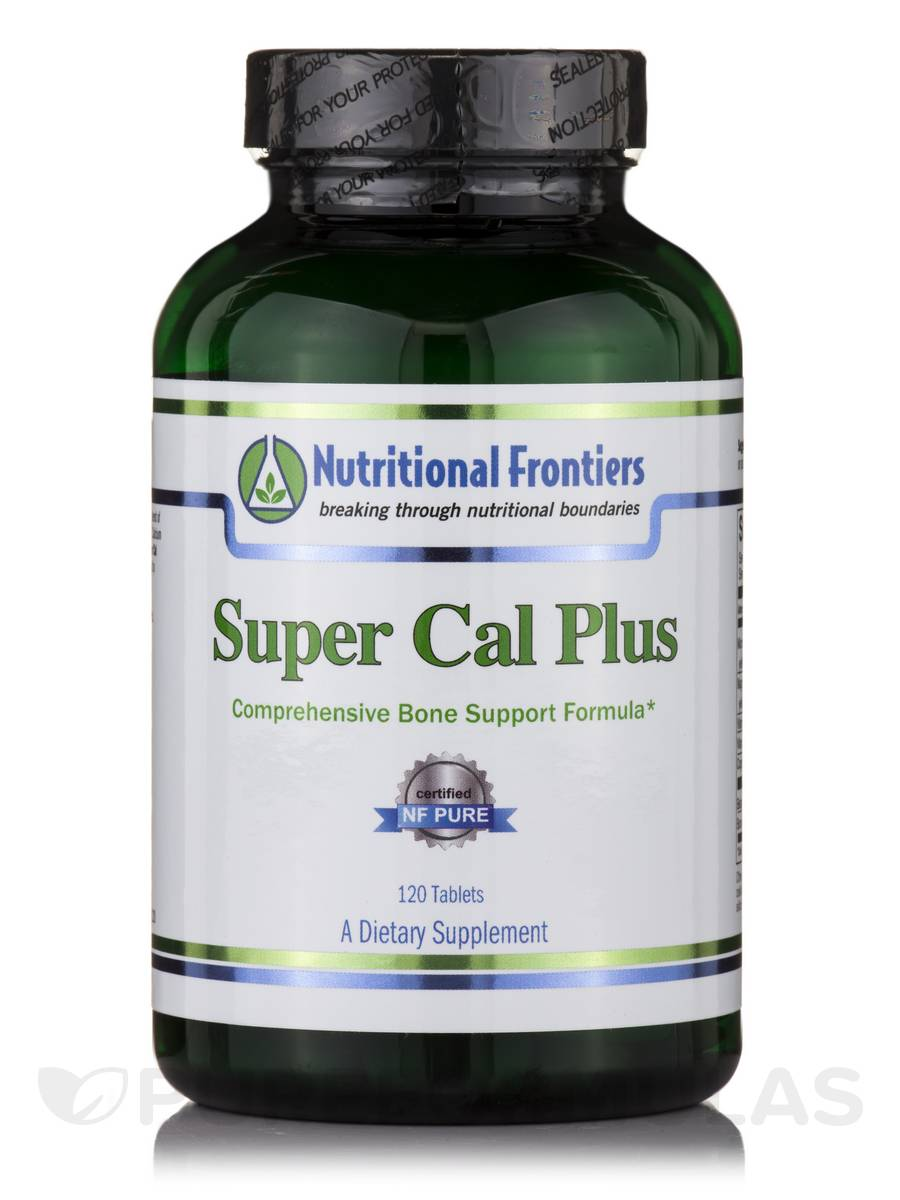 Super Cal Plus - 120 Tablets