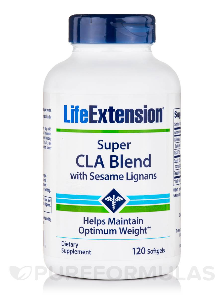 Super CLA Blend with Sesame Lignans 1000 mg - 120 Softgels