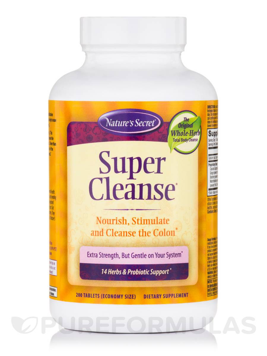 Super Cleanse - 200 Tablets