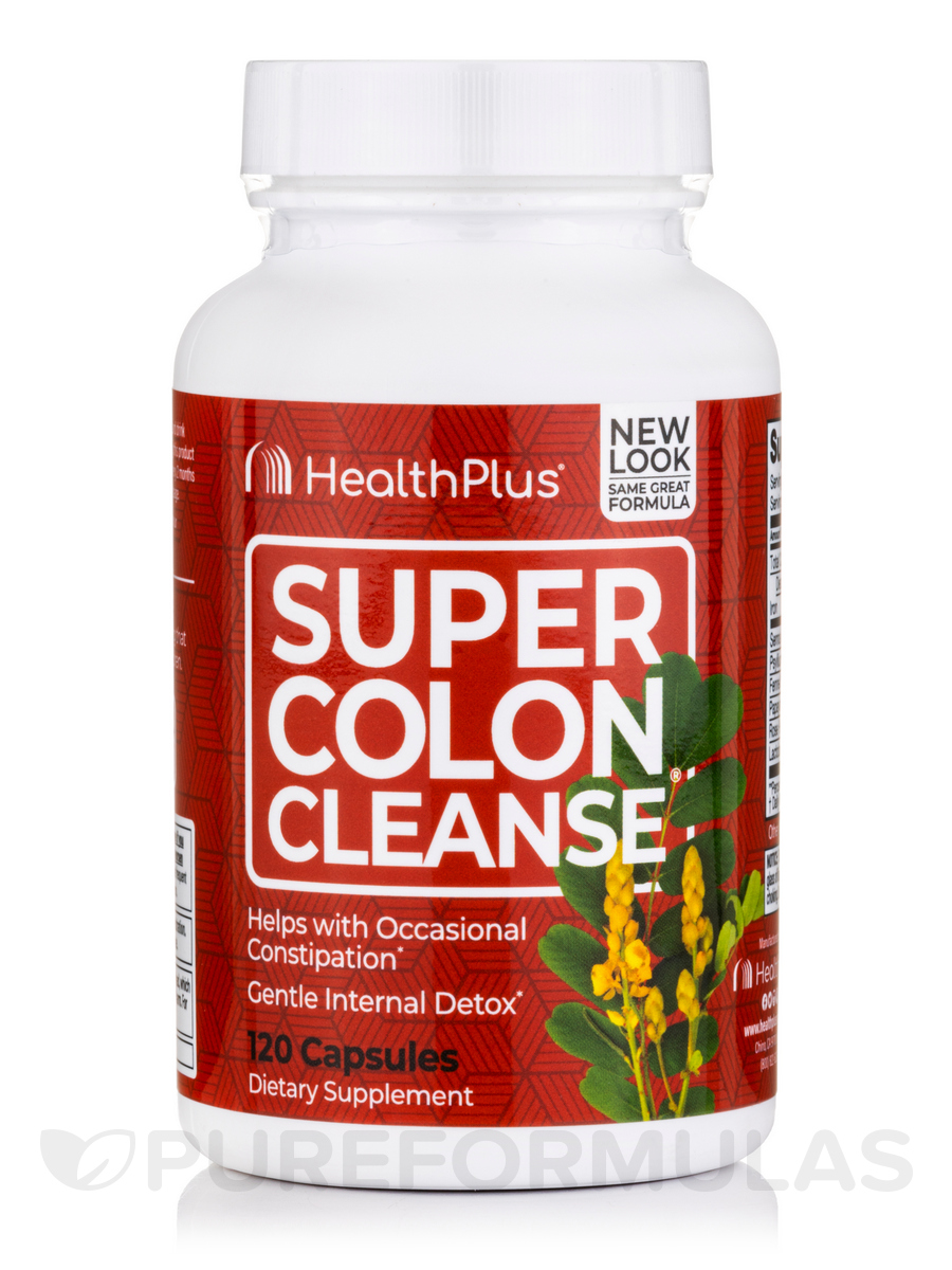Super Colon Cleanse® 500 mg - 120 Capsules