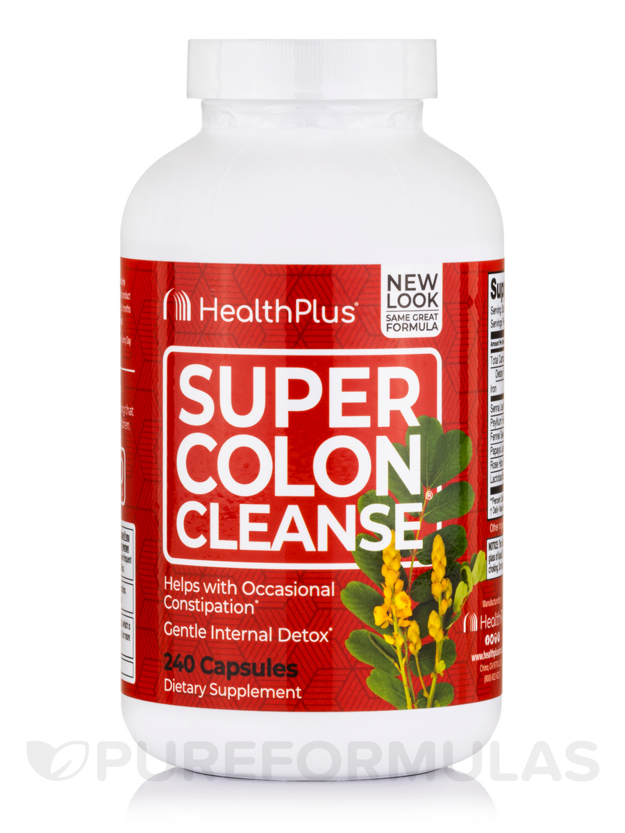 Super Colon Cleanse - 240 Capsules