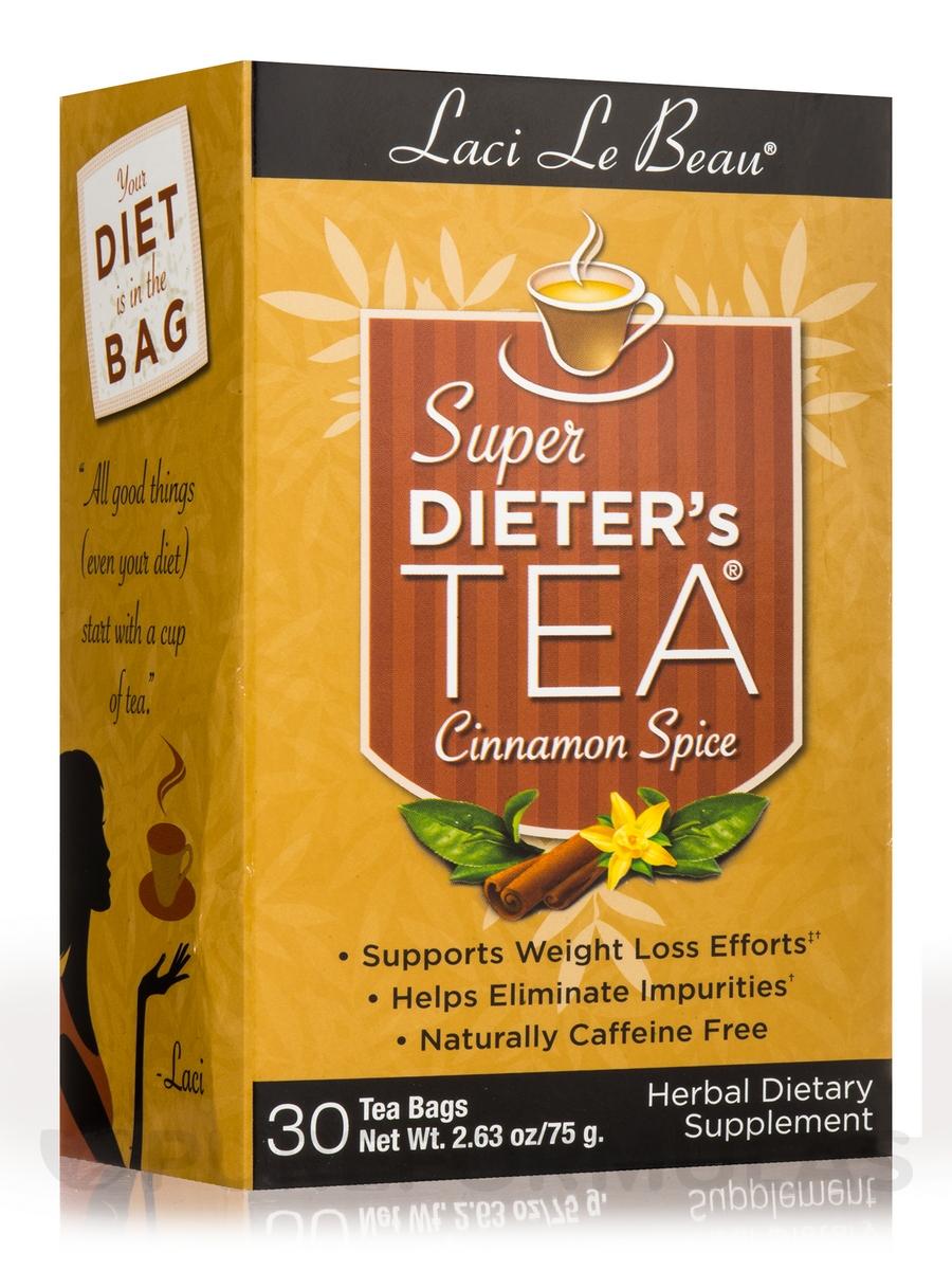 Super Dieter's Tea Cinnamon Spice - 30 Tea Bags (2.63 oz / 75 Grams)