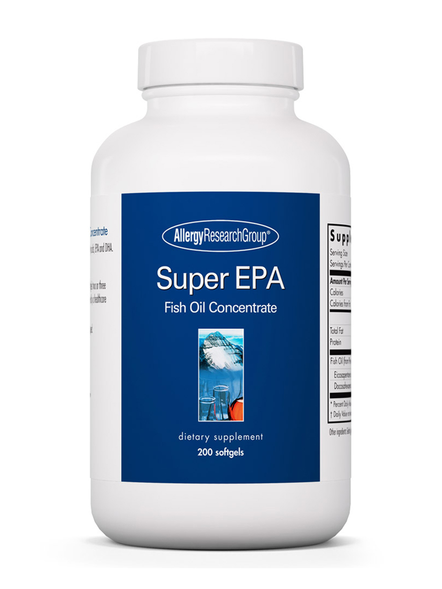 Super epa fish oil concentrate 200 softgels for Fish oil for dog allergies