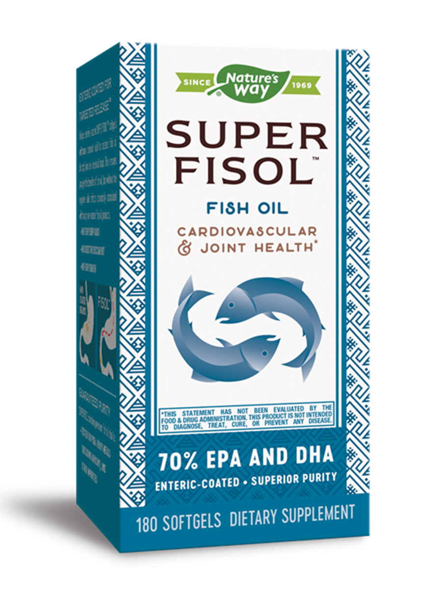 Super Fisol Fish Oil - 180 Softgels