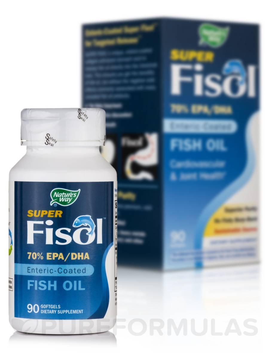 Super Fisol Fish Oil - 90 Softgels