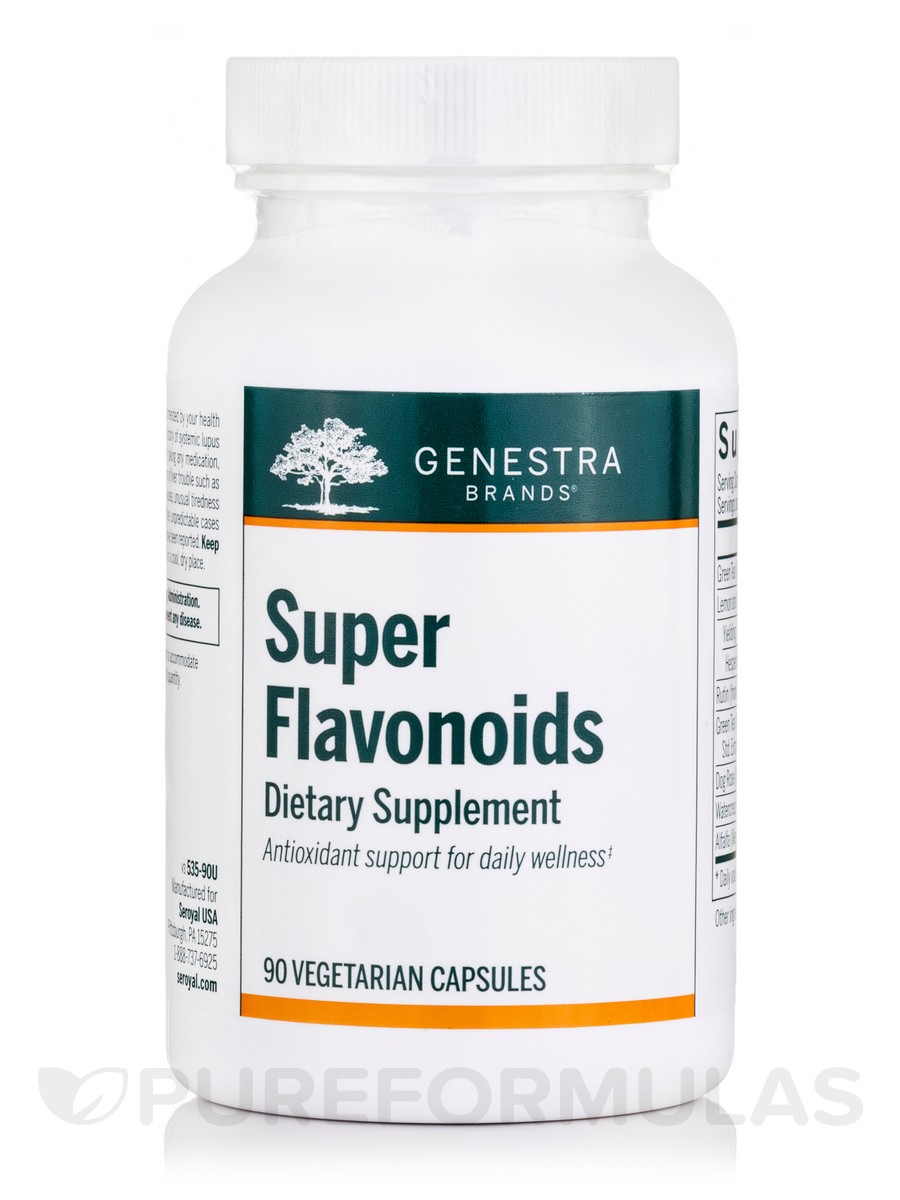 Super Flavonoids - 90 Vegetable Capsules