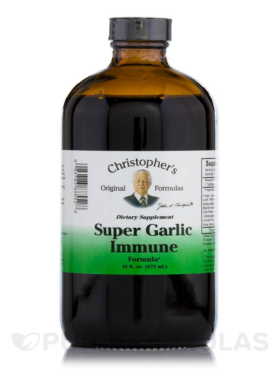 Super Garlic Immune Formula - 16 fl. oz (472 ml)