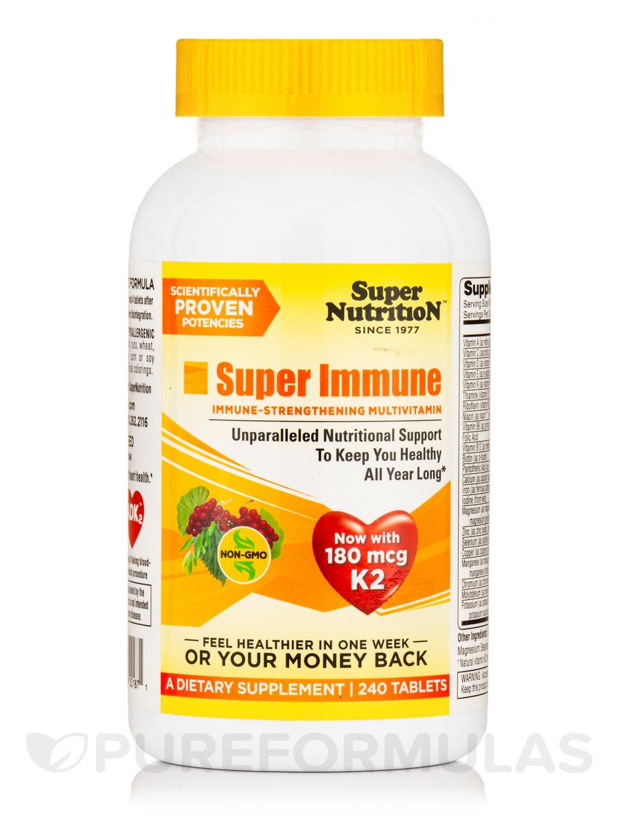 Super Immune Multivitamins - 240 Tablets