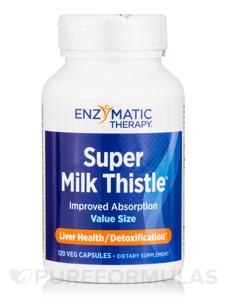 Super Milk Thistle - 120 Vegetarian Capsules