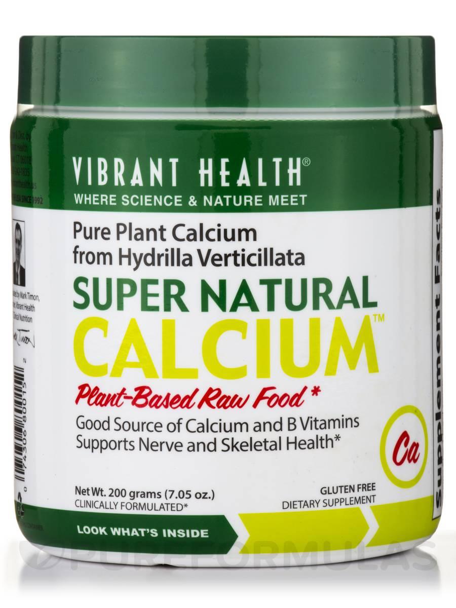 Super Natural Calcium Powder - 7.05 oz (200 Grams)