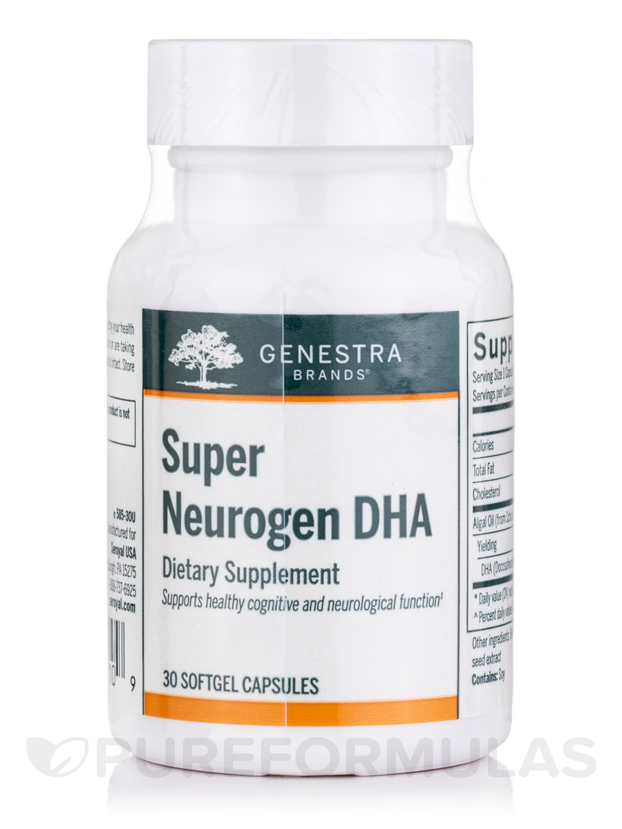 Super Neurogen DHA - 30 Softgel Capsules