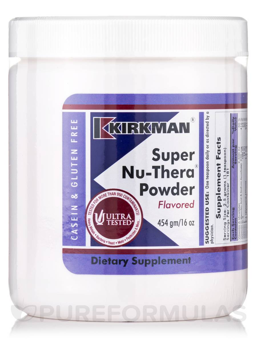 Super Nu-Thera Powder Flavored - 16 oz (454 Grams)