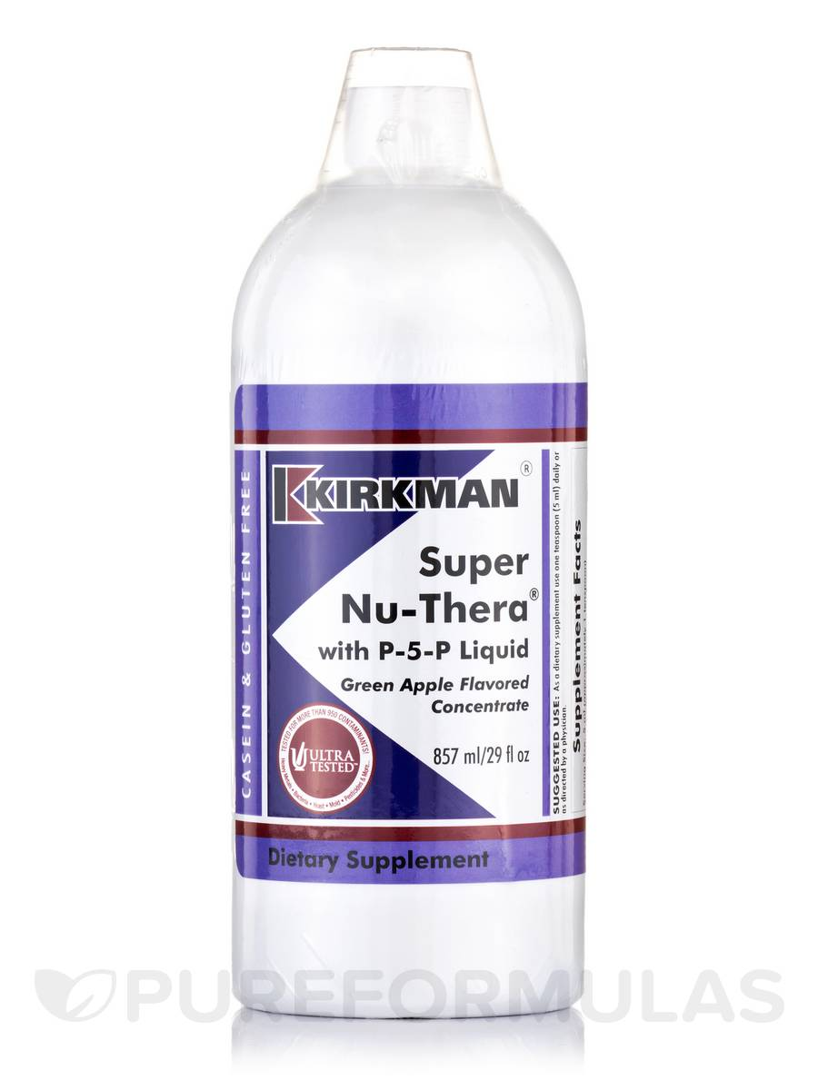 Super Nu-Thera with P-5-P Liquid Green Apple Flavored Concentrate - 29 fl. oz (857 ml)