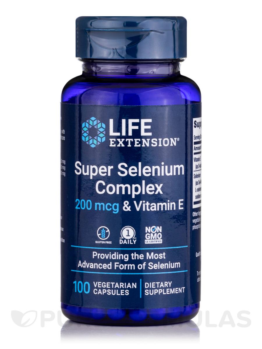 Super Selenium Complex 200 mcg - 100 Vegetarian Capsules