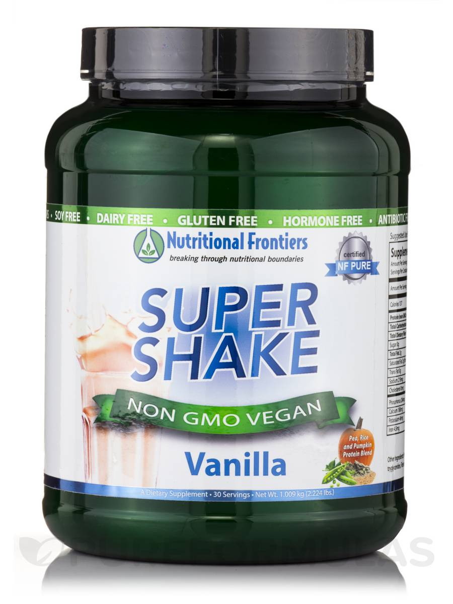 Super Shake Vanilla Vegan Powder - 30 Servings (2.224 lbs / 1.009 kg)