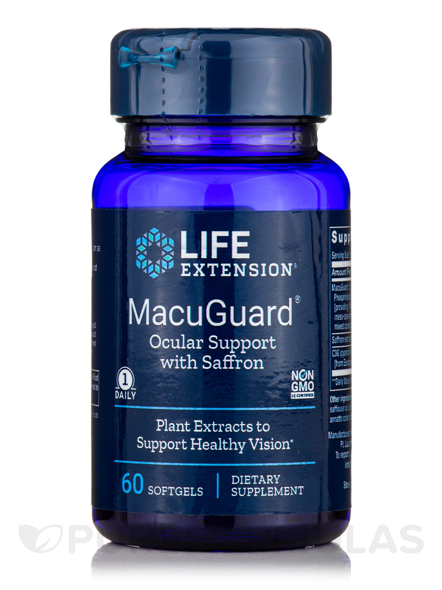MacuGuard® Ocular Support - 60 Softgels