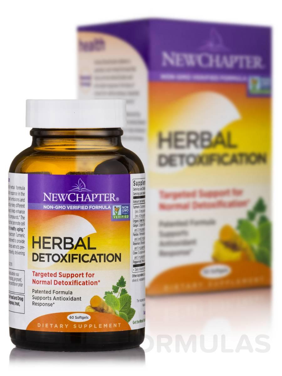 Herbal Detoxification - 60 Softgels