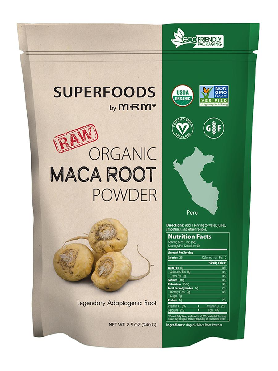 Superfoods - Raw Organic Maca Root Powder - 8.5 oz (240 Grams)