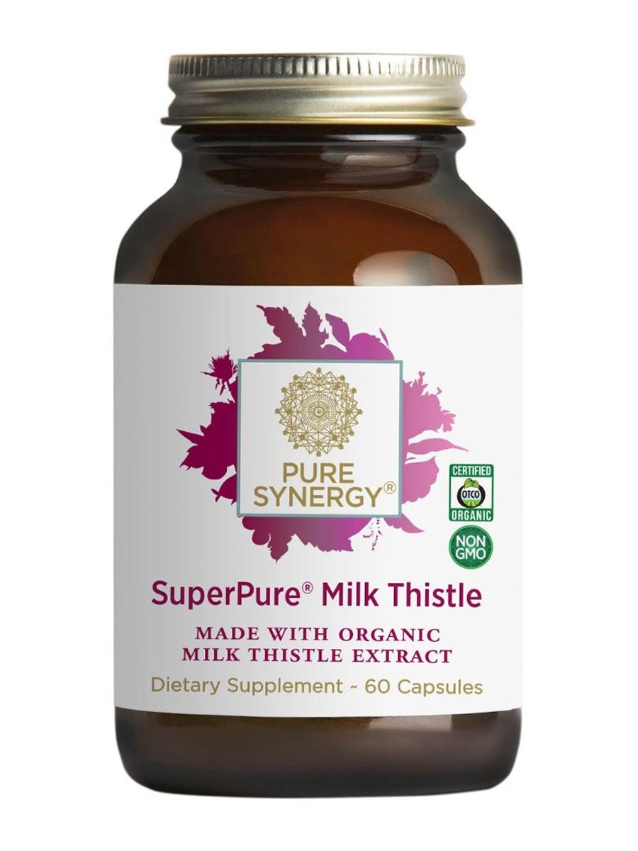 SuperPure® Milk Thistle Extract - 60 Vegetarian Capsules