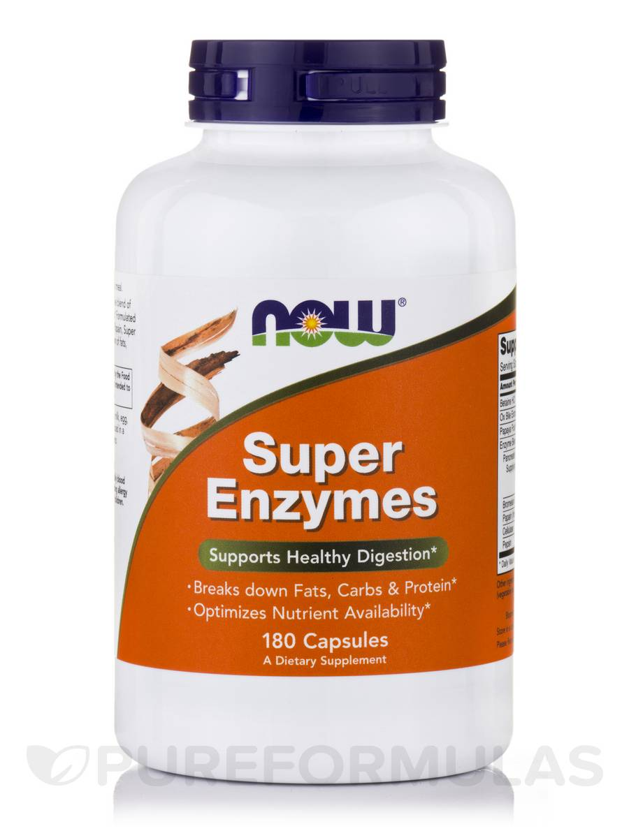 Super Enzymes - 180 Capsules