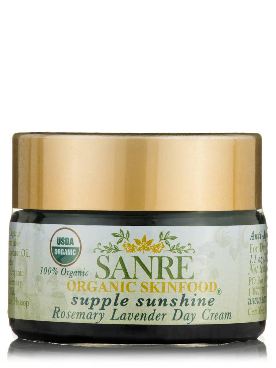 Supple Sunshine - Organic/NO SPF (Day Cream-dry/normal) - 1.1 oz (33 ml)