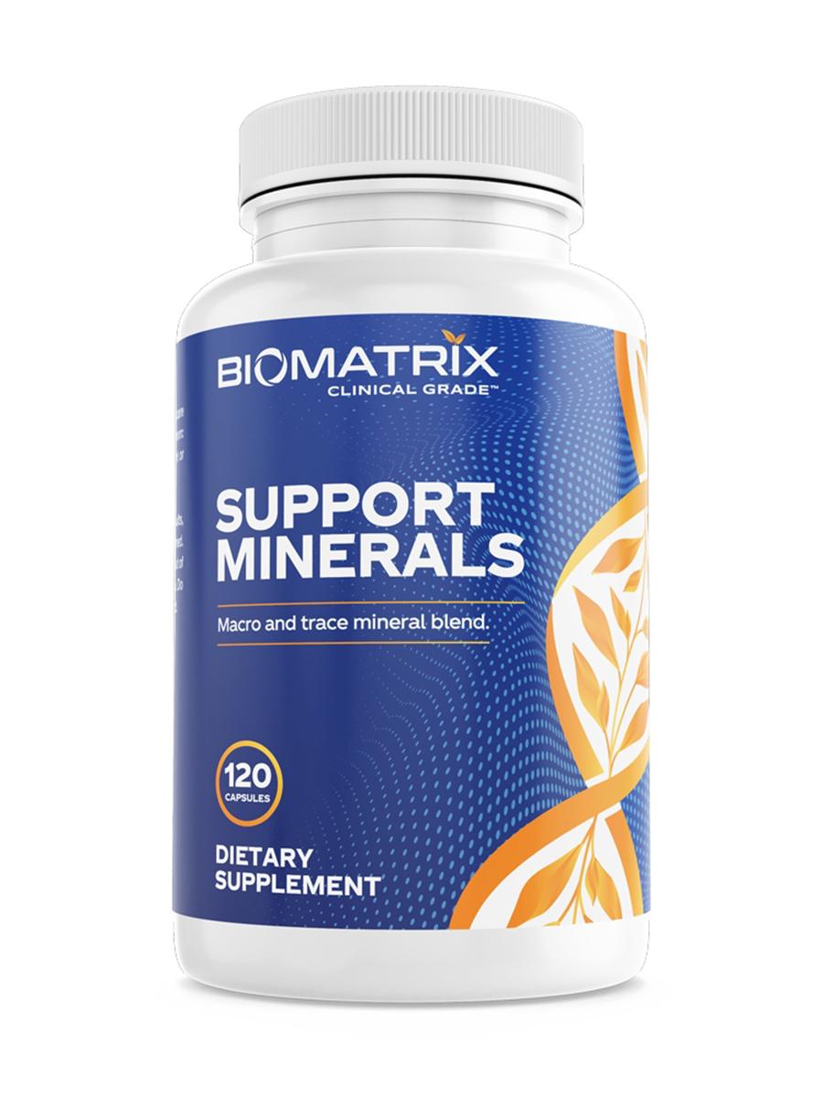 Support Minerals - 120 Capsules