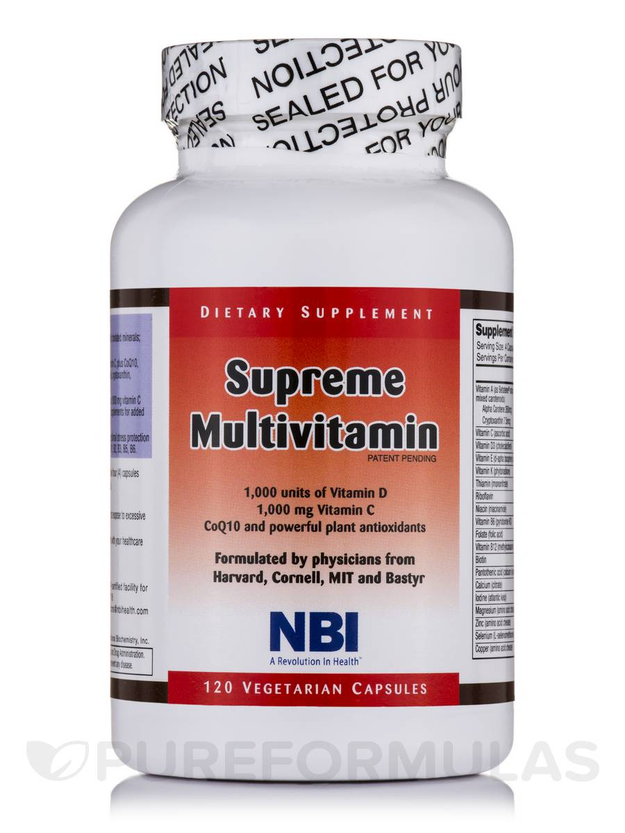 Supreme Multivitamin - 120 Vegetarian Capsules
