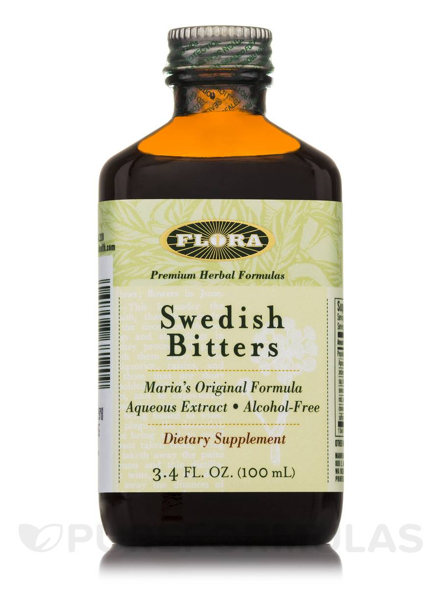Swedish Bitters Alcohol-Free - 3.4 fl. oz (100 ml)