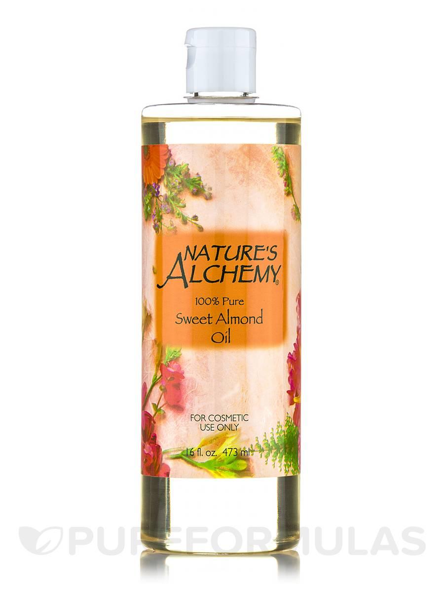 Sweet Almond Carrier Oil - 16 fl. oz (473 ml)
