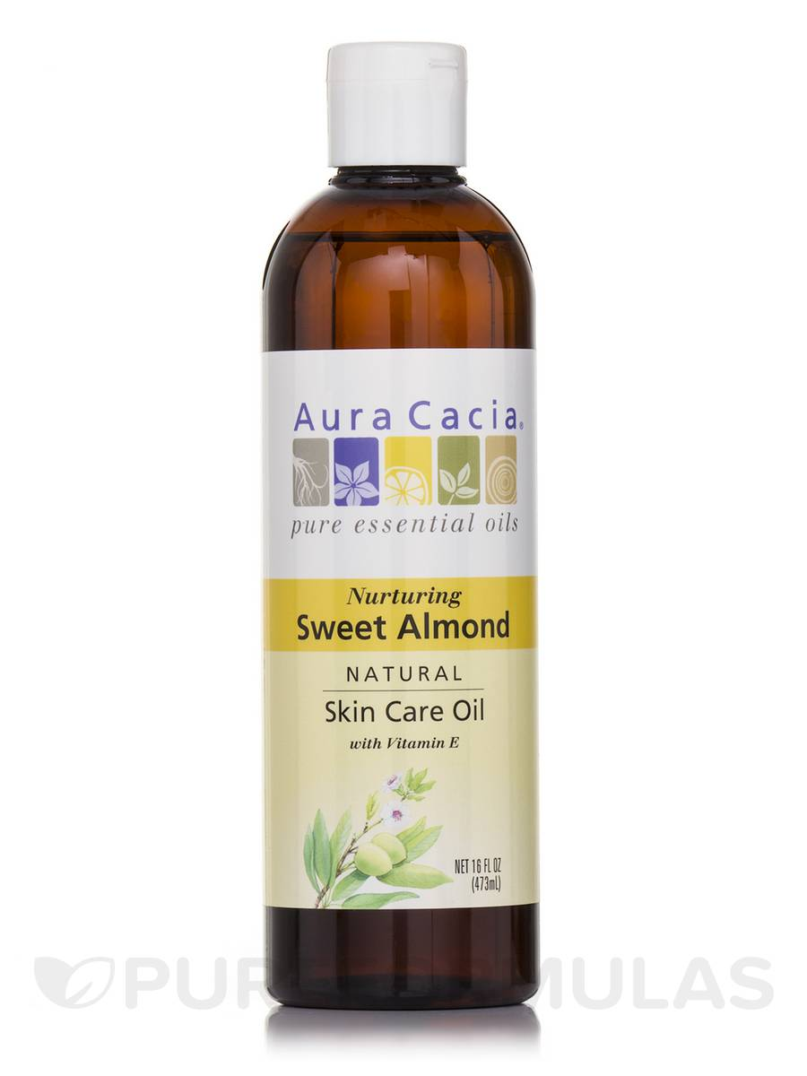 Sweet Almond Pure Skin Care Oil - 16 fl. oz (473 ml)