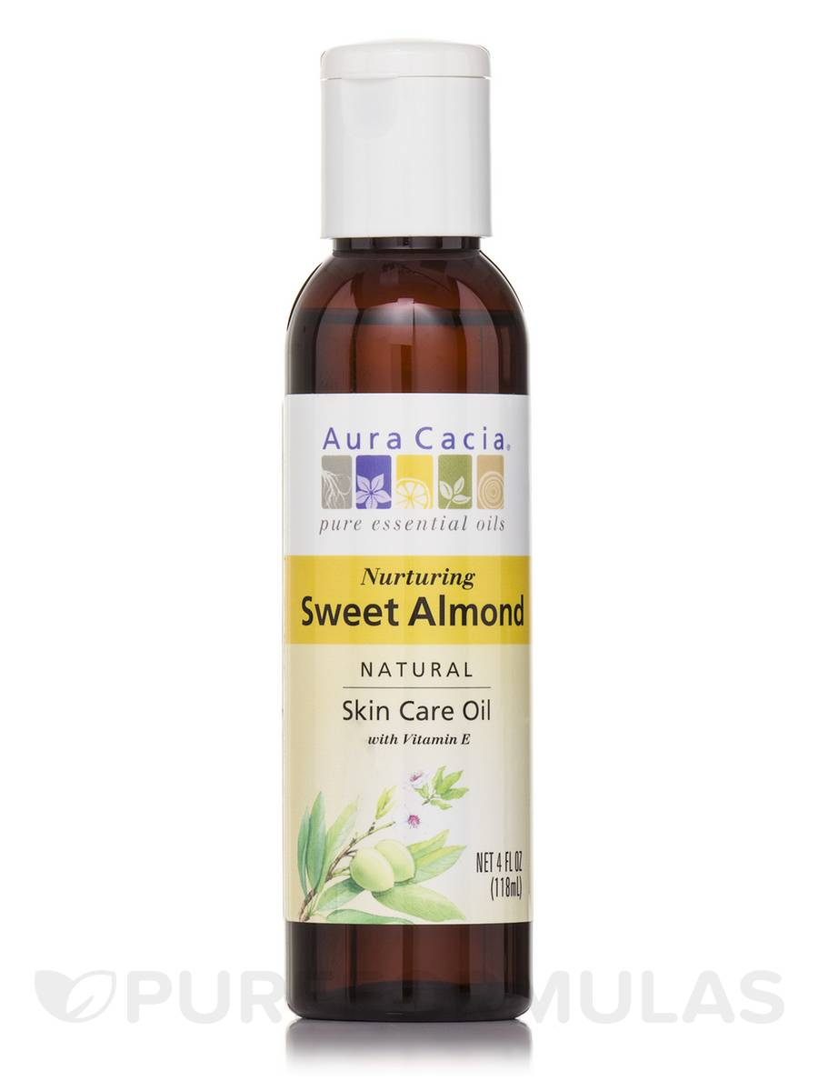 Sweet Almond Pure Skin Care Oil - 4 fl. oz (118 ml)