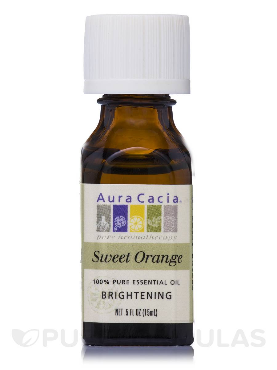 Sweet Orange Essential Oil (citrus sinensis) - 0.5 fl. oz (15 ml)