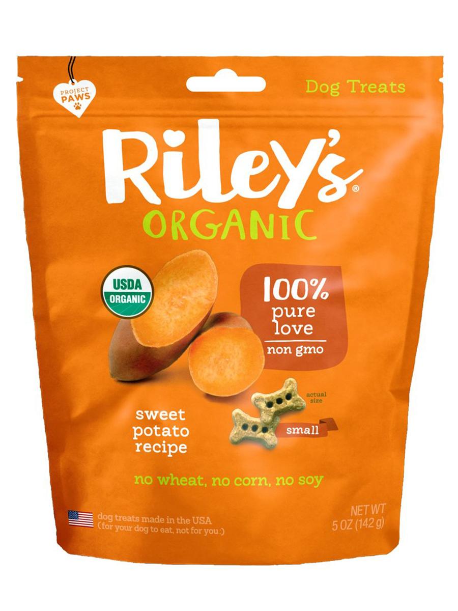 Organic Sweet Potato Baked Biscuits, Small Bone - 5 oz (142 Grams)